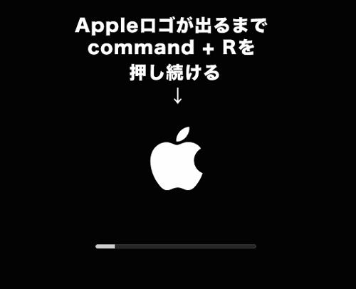 Macのスタートアップのロゴ